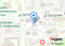 Компания «Ивановский городской Дворец детского и юношеского творчества» на карте