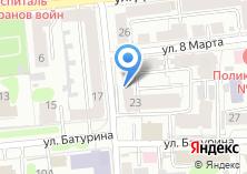 Компания «Двигатель торговли» на карте