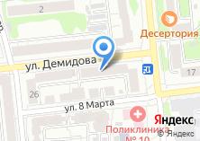 Компания «Дива трэвел» на карте
