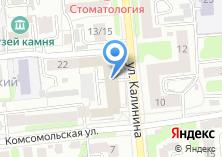 Компания «Агентство недвижимости Радуга» на карте