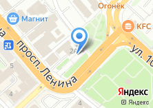 Компания «Белая ворона» на карте
