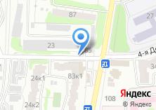 Компания «Автомойка на Деревенской 4-ой» на карте