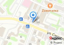 Компания «Адвокатский кабинет Стрыгиной М.В» на карте