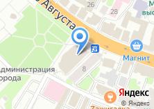 Компания «Белорусские угощения» на карте