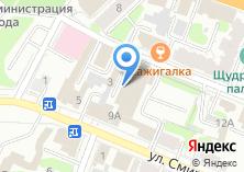 Компания «Много мебели» на карте