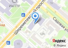 Компания «ИГХТУ» на карте