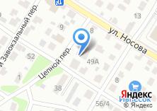 Компания «Служба грузоперевозок» на карте