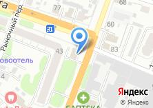 Компания «Дэлфи» на карте