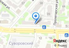 Компания «Адвокатский кабинет Карпова А.В» на карте