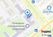 Компания «Ивановская пожарно-спасательная академия ГПС МЧС России» на карте