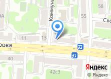 Компания «Райберг» на карте
