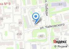 Компания «Сеть бань» на карте