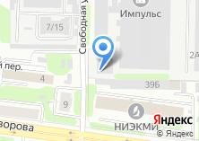 Компания «Тексмарк» на карте