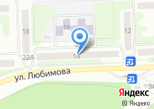 Компания «Цапцарапка - Качественные услуги наращивания ногтей и аппаратного маникюра» на карте
