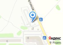 Компания «Техлайн» на карте