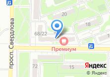 Компания «Главная дорога» на карте