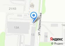Компания «Бетон» на карте