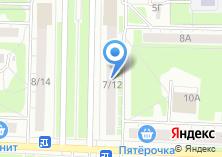 Компания «Рекорд» на карте