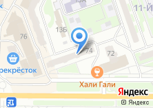 Компания «Юлмарт» на карте