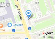 Компания «Магазин тканей» на карте