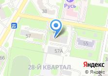Компания «СДЮШОР по фехтованию» на карте