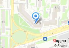 Компания «Пламя» на карте
