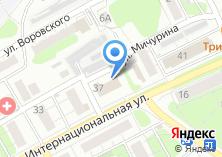 Компания «EMS Почта России» на карте