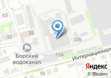 Компания «Борская» на карте