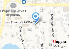 Компания «Семейка» на карте