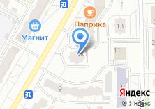 Компания «Магазин косметики и посуды» на карте
