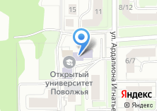Компания «Маркет Холдинг» на карте