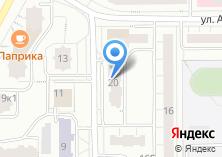 Компания «Контакт-Решение» на карте