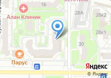 Компания «Интим-магазин клубничка» на карте