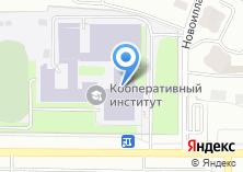 Компания «Чебоксарский кооперативный институт» на карте