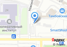 Компания «Автостоянка на Новоилларионовской» на карте