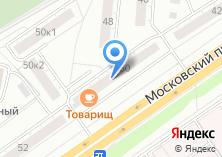 Компания «ТоварищЪ» на карте