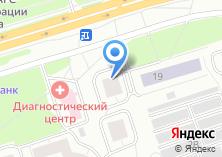 Компания «ФОРУС Банк» на карте