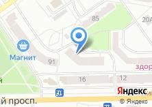 Компания «Содействие информатизации и связи» на карте