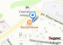 Компания «Багратиони» на карте