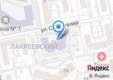 Компания «Строящееся административное здание по ул. Федора Гладкова» на карте