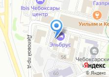 Компания «Мега Тур» на карте