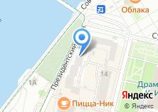 Компания «People» на карте