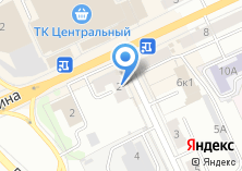 Компания «Татфондбанк» на карте