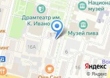 Компания «Театральное» на карте
