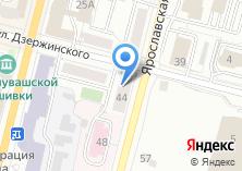 Компания «Общежитие ЧГСХА» на карте