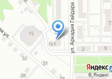 Компания «Гайдар» на карте