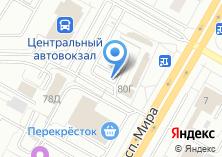 Компания «Автостоянка на проспекте Мира,78г» на карте