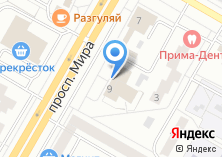 Компания «ИнтерьерPRINT» на карте