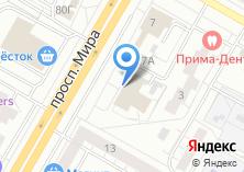 Компания «КомЭлТехно» на карте