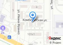 Компания «Технический центр безопасности» на карте